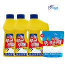 피죤 무균무때 바닥청소 세정제 1L 3개 +리필500ml 2통