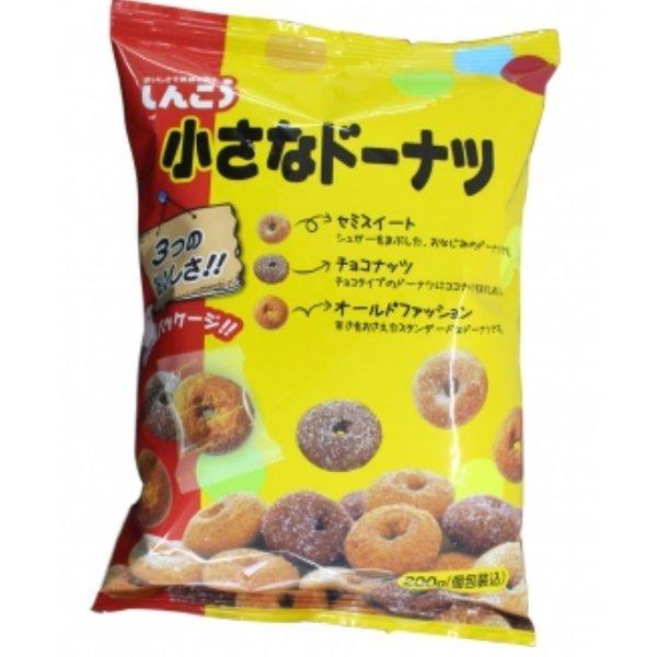 신코 미니 도넛 200g 3가지맛 낱개포장 도넛 특가세일