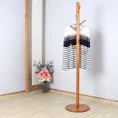 원목 스탠드옷걸이 - 원형 원판형