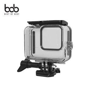 (비오비) bob 고프로 히어로8 블랙 전용 스포츠 방수 클리어 투명 케이스 GoPro Hero8 Black IP68 60M방수
