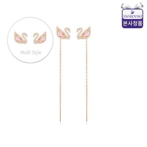 (신세계강남점) 본사정품/선물포장  Dazzling Swan 핑크스완 이어링 5469990
