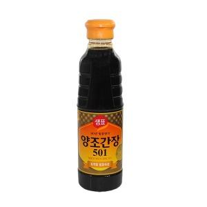 (무)샘표식품 양조간장(501)500ml