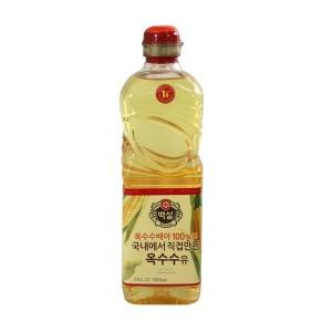(무)백설 옥수수유0.9L