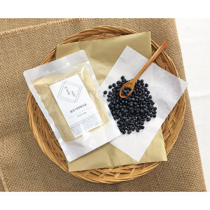 이로운곳간 국산 볶은 서리태가루 검은콩가루 500g
