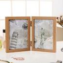 슬라이드 양면프레임 2단 접이식 액자(4x6) 사진프레