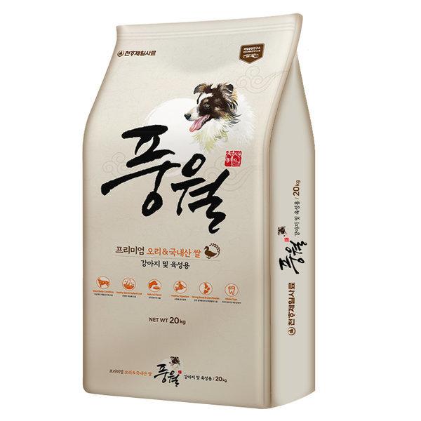 천하제일 풍월 대용량 개사료 20kg (사은품+샘플증정)