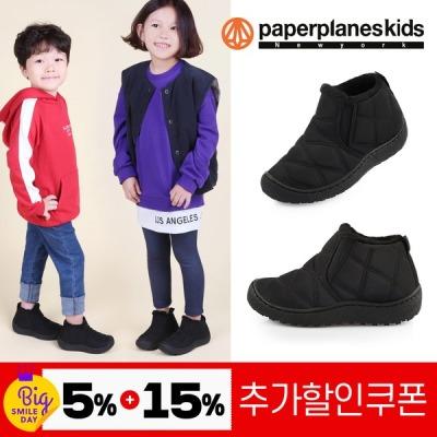 [페이퍼플레인키즈] PK8019 아동털운동화 아동패딩부츠 아동화 키즈부츠