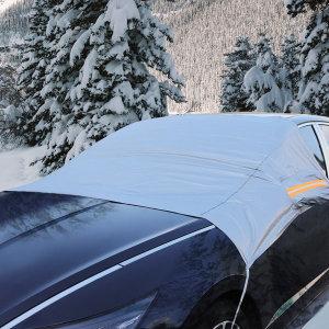 자동차 성에방지 기모 앞유리커버 햇빛가리개 차광막