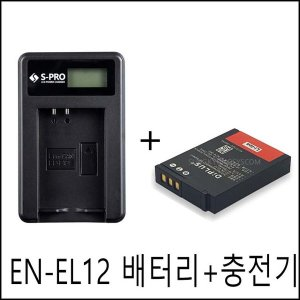 니콘 EN-EL12 배터리+충전기 쿨픽스S8000 S8100 S8200
