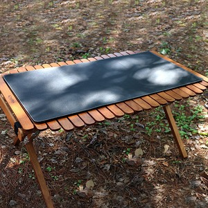 BL 캠핑 감성 가죽 방수 테이블보 탁자 식탁보 커버