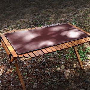 BR 캠핑 감성 가죽 방수 테이블보 탁자 식탁보 커버