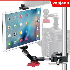 본젠 VCT-853S 태블릿 거치대 + KM-192G 매직암 SET (아이패드 갤럭시탭 태블릿PC 7-13인치 / 카메라 핫...