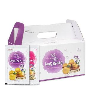 루솔 순수한 배도라지즙 90포 선물세트 배즙 초석잠