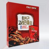 (3907) 6년근 고려진홍삼 대보 30포