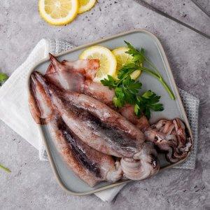 부드럽고 쫄깃한 국내산 햇오징어1kg+1kg 초특가(사은품포함)