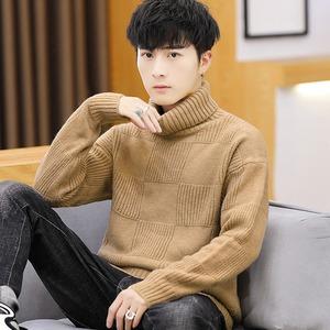 남자 니트 목폴라 스웨터 티셔츠 반집업가을 겨울aa90