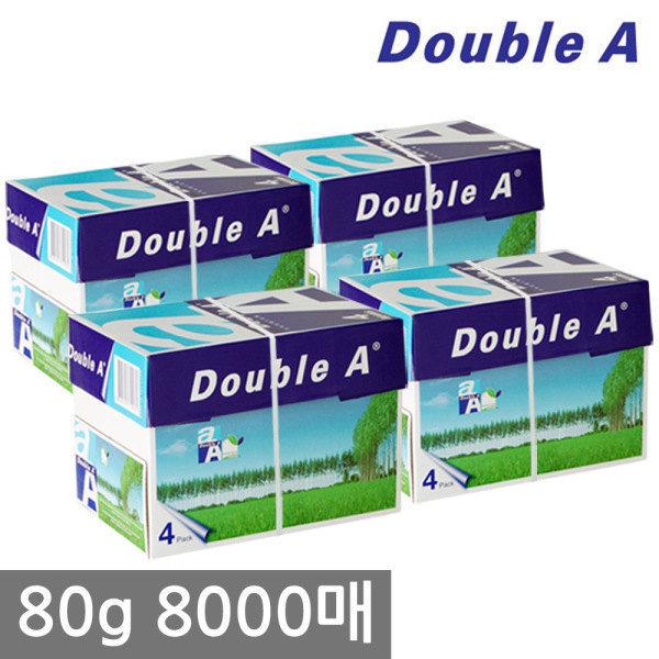 A4 복사용지(A4용지) 80g 2000매 4BOX