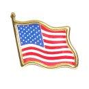 USA 미국국기(성조기)금속 뱃지