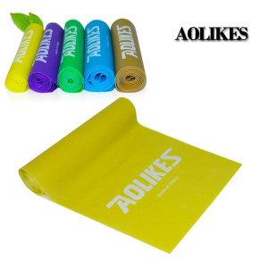 AOLIKES 5단계 라텍스밴드 초급자용 200 X15 옐로우