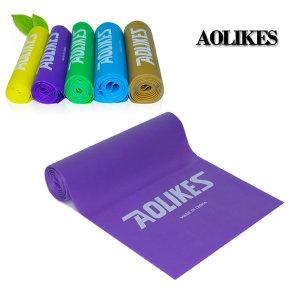 AOLIKES 5단계 라텍스밴드 중급자용 200 X15 퍼플