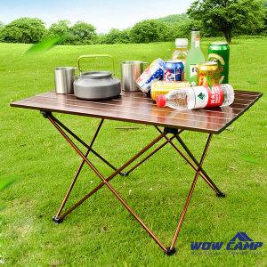 알루미늄 합금 경량 캠핑테이블 소형 접이식 롤테이블