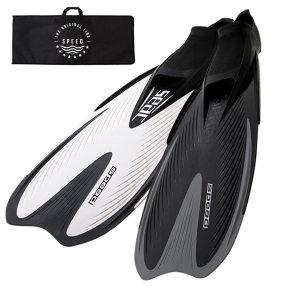 쎄악서브  쎄악 수영강습 스노쿨링 오리발 핀 스피드+가방