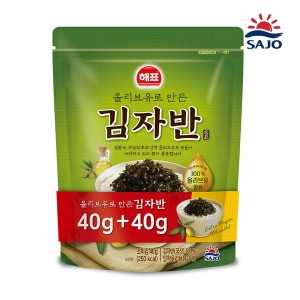 사조 올리브유 김자반 80g(40g+40g)
