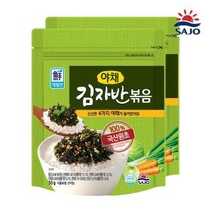 사조 야채김자반 100g(50g+50g)