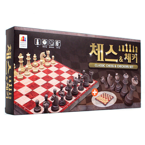 (W)  체스앤 체커 체스앤체커