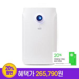 422 먼지제로 공기청정기 P1C63 25.5평형 PM1.0 HEPA13