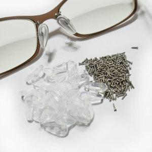 안경 코받침 3쌍 안경 코나사 6개
