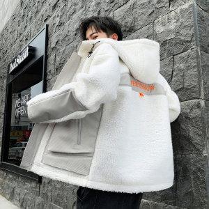 남자 양털 후리스 자켓 플리스 뽀글이 후드집업 겨울