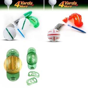 볼라이너 골프공 필드 굵은 라인업 세줄 퍼팅 PVC 컬