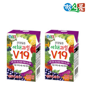 베지밀건강담은야채과일V19 145ml 48팩