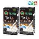 정식품 검은콩 아몬드와 호두 두유 190ml 32팩