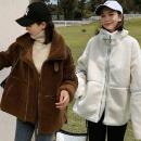 램스울 무스탕 양털 뽀글이 여성 퍼 자켓 신상 겨울