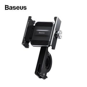 (비오비) 베이스어스 메탈 바이크 스마트폰 거치대 / 배달오토바이 퀵배송 자전거 스쿠터