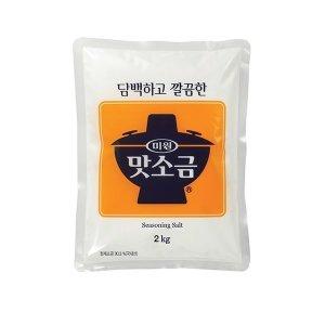 청정원 미원 맛소금 2kg