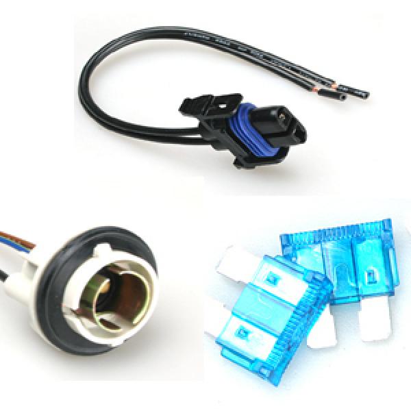 자동차퓨즈10개기본/소켓/순정실내등/휴즈/전조등조등안개등미등소켓/