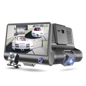 2채널블랙박스 후방카메라겸용 풀1080PHD 4인치화면