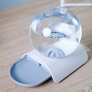소프하우스 자동급수기 그레이 고양이 물그릇 정수기