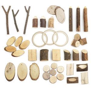 나무조각 100g