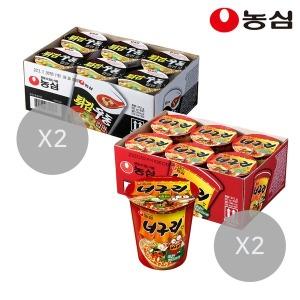 튀김우동컵12개+너구리컵12개(총24개)