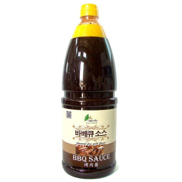 이슬나라 바베큐 소스 2kg 유명한푸드 간장마늘소스