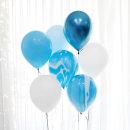 마블풍선 세트 7P (블루) / 생일파티용품 풍선세트