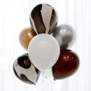 마블풍선 세트 7P (블랙) / 생일파티용품 백일상 돌