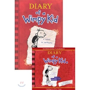 Diary of a Wimpy Kid  1 : A Nobel in Cartoons (Book   CD)  Jeff Kinney