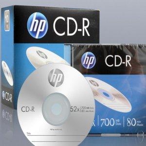 HP 공CD-R 음악공시디 10장 슬림케이스(개별케이스)