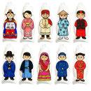 컬러룬 그리기 색칠풍선 다문화 전통의상 A 5종(10인)