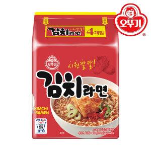 김치라면 멀티 1팩(4봉)